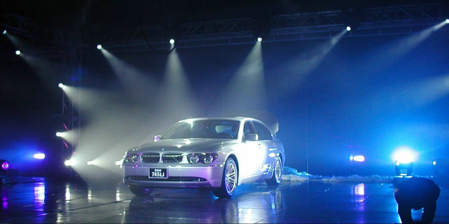Launch des BMW 745i